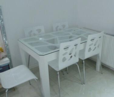 百年共枕餐桌(玻璃)