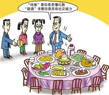 现代生活中的餐桌礼仪