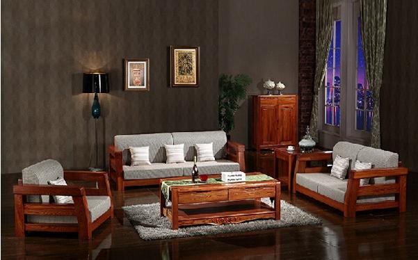 老榆木现代中式组合沙发价格