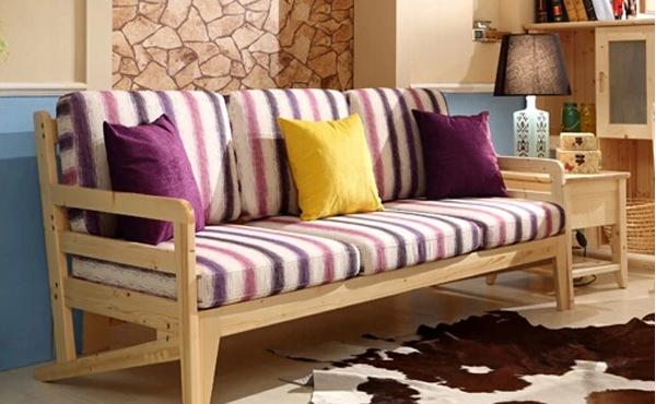 中式实木多功能沙发折叠床价格