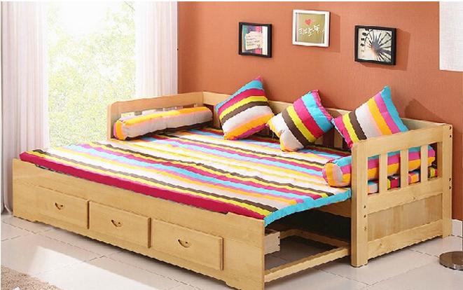客厅小户型宜家松木沙发价格