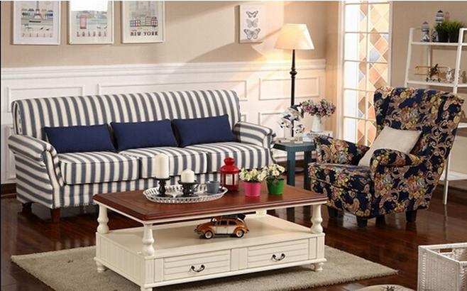 小户型客厅地中海沙发价格, 小户型客厅地中海沙发