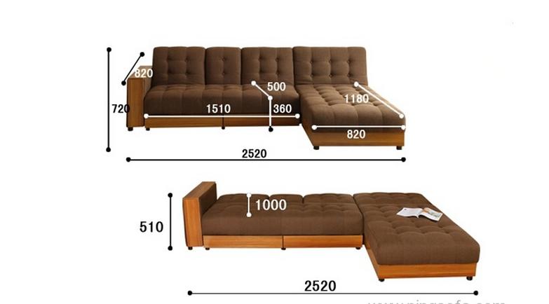 沙发的尺寸有哪几种