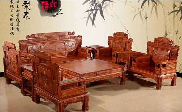 红木沙发十件套及价格介绍