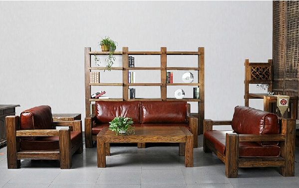 老榆木沙发图片,老榆木沙发的价格