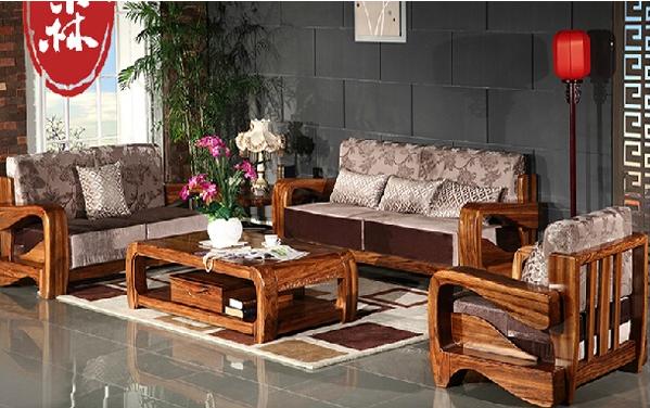 实木家具沙发图片大全