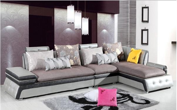 此款新古典主义的欧式拐角沙发