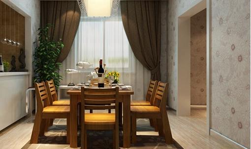 家庭餐厅窗帘效果图6.png