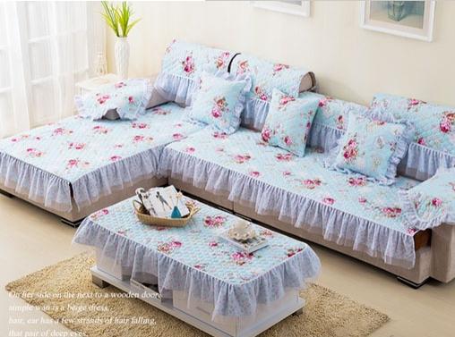 沙发套的制作方法