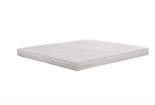 共枕1.8米床垫  绒布面天然乳胶床垫