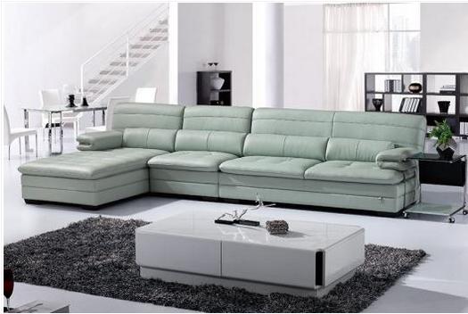 共枕客厅沙发,牛皮头层皮组合舒适沙发