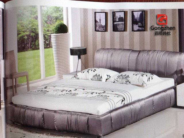 共枕软床布艺床309