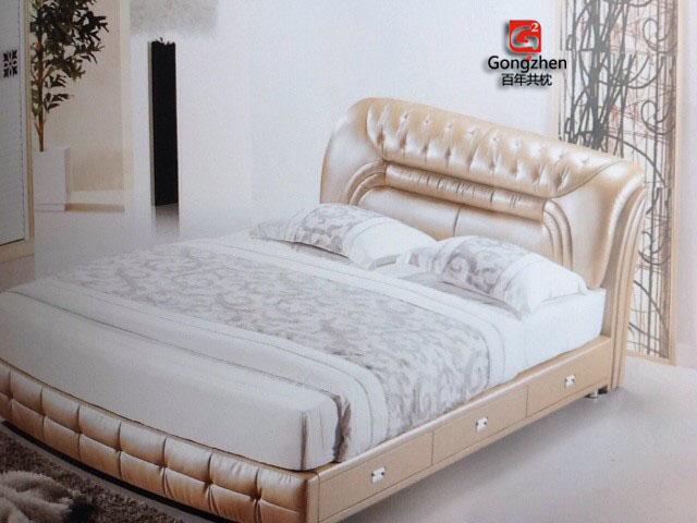 共枕软床储物床 b329