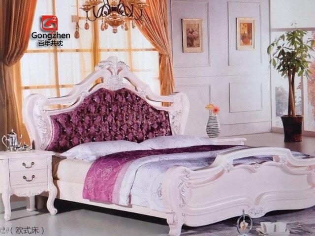 欧式风格A002布艺床