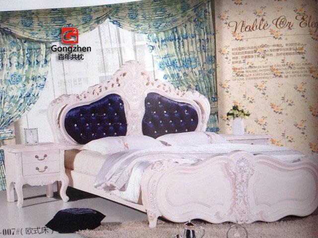 共枕软床欧式风格a-007