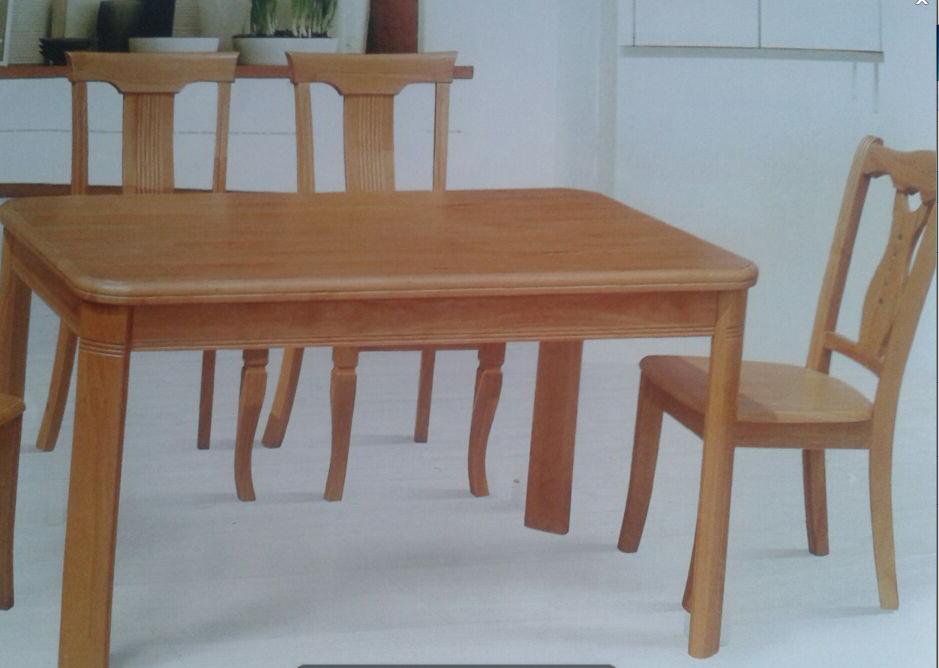 共枕实木餐桌2001